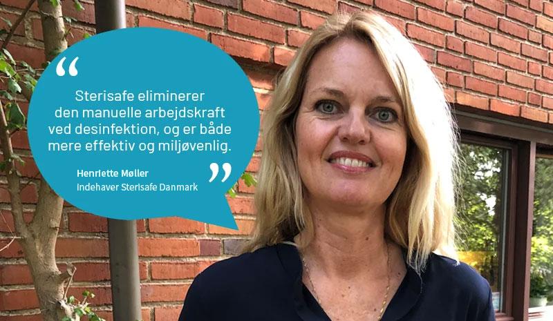 Henriette Møller, indehaver Sterisafe Danmark